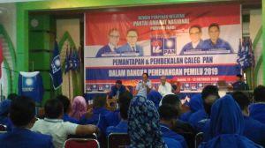 Dihadiri Sekjen DPP PAN, 400 Caleg se-Provinsi Jambi Digembleng Menangkan Pileg 2019