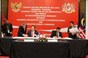 Ini Kesepatan Delegasi Indonesia-Malaysia soal Sektor Timur Perbatasan Kedua Negara