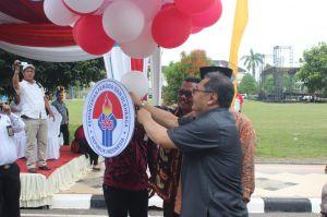 Festival Tari dan Busana Etnik Kegiatan Kirab Pemuda 2018 di Jambi Resmi Dibuka