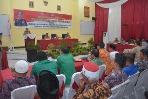 Sukseskan Pemilu 2019 Mendatang, Kapolda Jambi Datangi Masyarakat Tebo