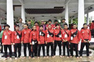 Selama 3 Hari, Ratusan Pemuda Jambi Lakukan Napak Tilas di Kabupaten Tebo