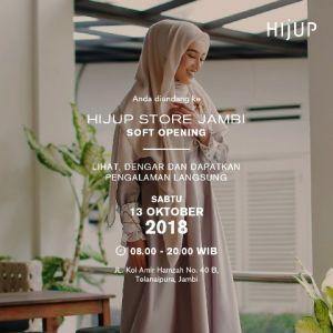 Besok HIJUP Store Resmi Hadir di Jambi,  Jangan Lewatkan Penawaran Khusus di Soft Opening