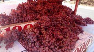 Meski Hasil Lab Negatif, Omset Lapak Anggur Merah Menurun