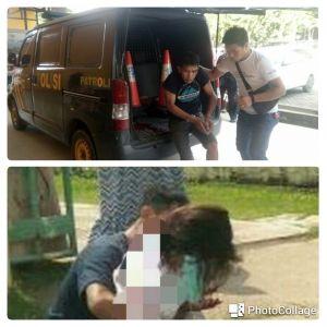 Perempuan Diduga Pelaku Jambret Terjatuh, Rekan Prianya Ditembak