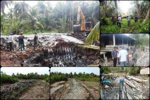 TMMD Masuki Hari Kelima di Desa Pangkal Duri, Ini Perkembangan Terbaru Capaian Programnya