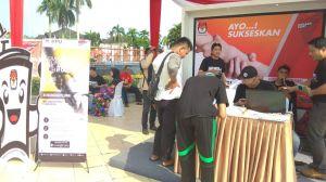KPU Buka Stand GMHP di Kantor Gubernur Provinsi Jambi