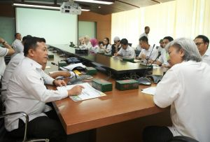 H Al Haris Ekspos Kawasan Strategis Merangin  di Kementerian PUPR