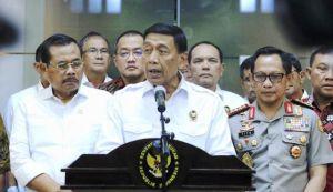Heboh Soal Pembakaran Bendera dengan Kalimat Tauhid, Ini Penjelasan Lengkap Wiranto