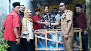 Penyerahan Bantuan Kementrian Perindustrian untuk IKM di Tanjabtim, Ihsan: Semoga Makin Sejahtera
