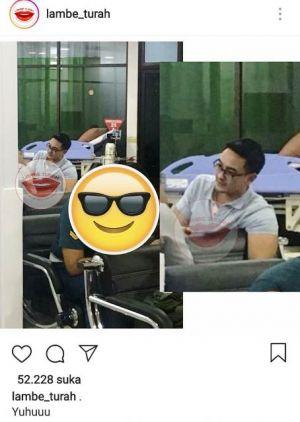 Sempat Sesak Nafas di Persidangan, Foto Zola di Rumah Sakit Beredar