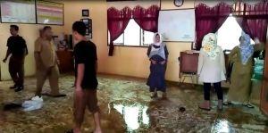 Pasca Banjir di Jujuhan, Sejumlah Fasilitas Pendidikan Rusak, Aktivitas Belajar Terganggu