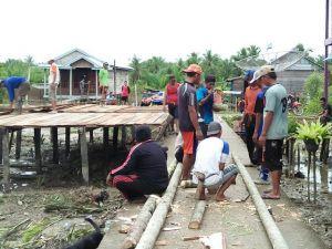 Koptu Khailani: Jiwa Gotong Royong Warga Sungai Ayam Tumbuh berkat TMMD