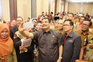 SAH Sosok Dibalik Gemilangnya Elektabilitas Partai Gerindra di Provinsi Jambi