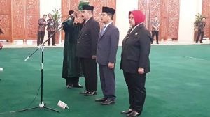 Mantan Kapuspen Kemendagri Reydonnyzar Moenek Dilantik Jadi Sekjen DPD RI