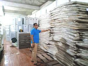Kotak dan Bilik untuk Pileg dan Pilpres Sudah Diterima KPU Kota Jambi