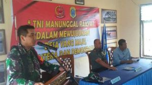 Dandim 0419/Tanjab SampaikanHasil TMMD Ke 103 di Kabupaten Tanjabtim