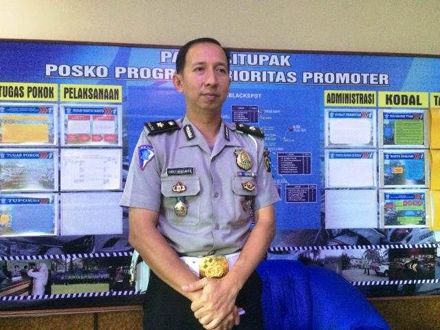 Kepala Sekretaris Operasi Daerah (Keset Opsda) Polresta Jambi, Ricky Hadianto