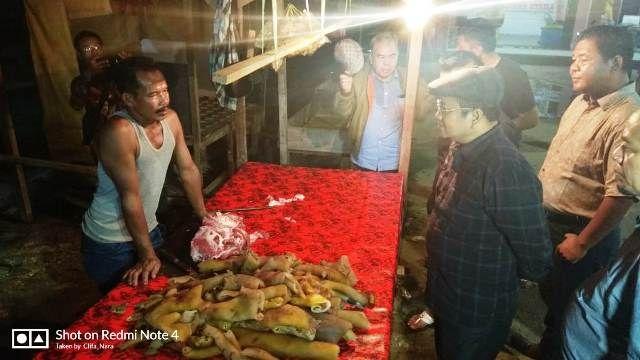 Maulana Sidak di Pasar Induk Talang Gulo