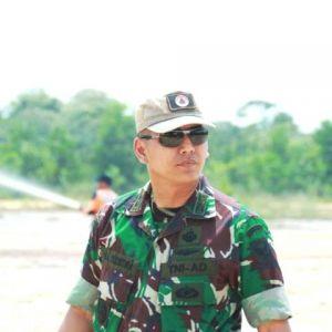Hadapi Pemilu 2019, Dandim Tanjab Instruksikan Jajarannya Pasang Spanduk Netralitas TNI Harga Mati