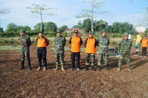 Kodim Pati Bersama Pemerintah Daerah Apel Kerja Bakti Dalam Rangka Hari Juang Kartika dan HUT Korpri