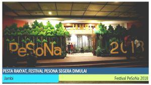 VIDEO: Pesta Rakyat Festival PeSoNa Dimulai Malam Ini