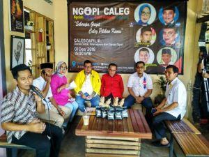 VIDEO: Enam Caleg Menerima Tantangan NGOPI CALEG, Ini Kata Mereka Soal Visi Misinya