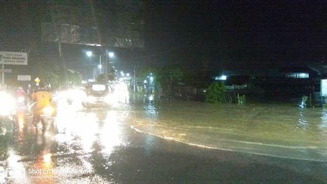 Suasana banjir