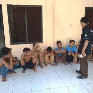 Meresahkan Warga, 9 Anak Jalanan di Kawasan Pasar dan Jeletung Diamankan