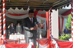 Pimpin Upacara Peringatan Hari Bakti PUPR ke 73, Sekda: Sinergi Infrastruktur Dukung Pembangunan