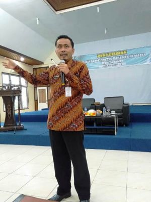Puluhan Jurnalis Ikuti Penyuluhan Bahasa Indonesia
