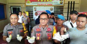 Polresta Jambi Bekuk Pengedar Ribuan Butir Ekstasi dan 5 Paket Sabu