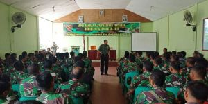 Pimpin Apel Babinsa dan Danramil, Dandim 0419/Tanjab Tegaskan TNI Netral di Pemilu 2019