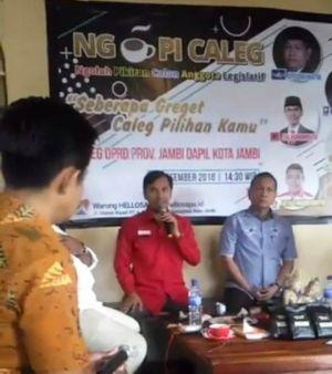 VIDEO: Edi Purwanto Blak-Blakan di Ngopi Caleg soal Kerja DPRD