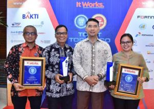 Kota Jambi Raih 2 Kategori Penghargaan Smart City