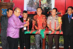 Perayaan Natal Oikumene Kabupaten Tanjung Jabung Barat Berlangsung Meriah