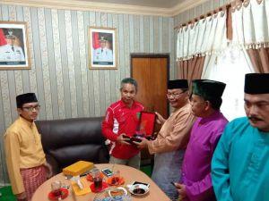 LAM Tanjab Barat Studi Banding ke LAM Kabupaten Indragiri Hilir