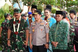 Panglima TNI dan Kapolri Tiba di Jambi