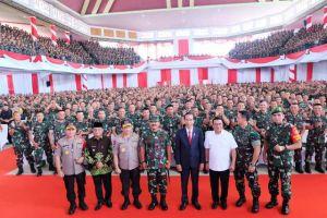 Tatap Muka dengan Ribuan Babinsa di Jambi, Begini Isi Arahan Presiden Jokowi