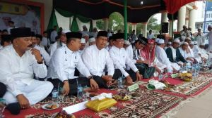 Pemkab Tanjung Jabung Barat Hadiri Haul Akbar di Tembilahan- Indragili Hilir