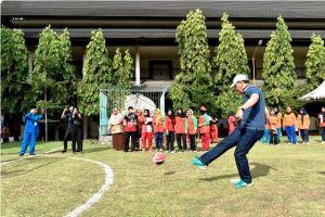 Sekda Buka Pertandingan Futsal HUT Provinsi Jambi