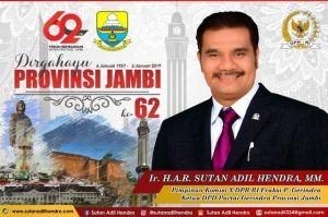 Ini Harapan SAH di HUT Ke 62 Provinsi Jambi