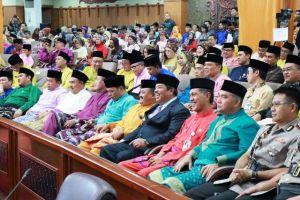 Sekda Tanjung Jabung Barat Hadiri Rapat Paripurna Istimewa HUT Provinsi Jambi ke-62