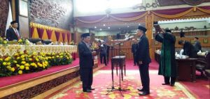 Evi Suryadi, Pengganti H Salam Resmi Dilantik Jadi Anggota DPRD Provinsi Jambi