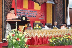 Sebut Capaian 6 Misi Pembangunan Provinsi Jambi Meningkat, Fachrori: Mari Bersinergi Membangun Jambi