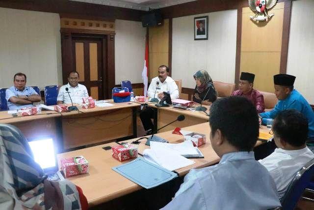 Pemkab Tanjung Jabung Barat  Evaluasi RPJPD 2005-2025 di Bappeda Provinsi Jambi
