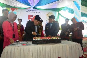 Jadi Irup HUT Bank Jambi ke-56, Fachrori: Pelayanan Harus Profesional