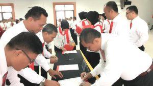 Jalankan Instruksi Kabareskrim, Polda Jambi Tandatangani Komitmen Integritas
