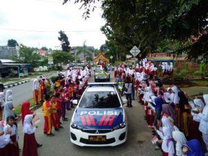 Piala Adipura Yang Kedua Diarak Keliling Kota Bungo