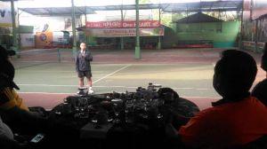 Pamit Jelang Sertijab, Danrem 042 Gapu Ajak Kapolda dan Kalangan Media Berolahraga di Farewell Game