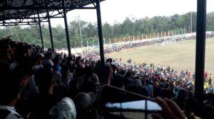 Final Lawan Bungo, Merangin Jawara Gubernur Cup